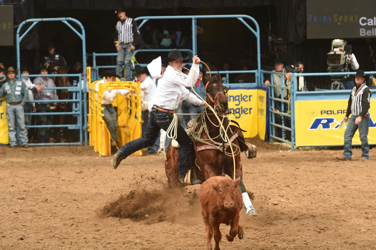 Caleb Smidt One On One With The Wrangler Nfr Contestants