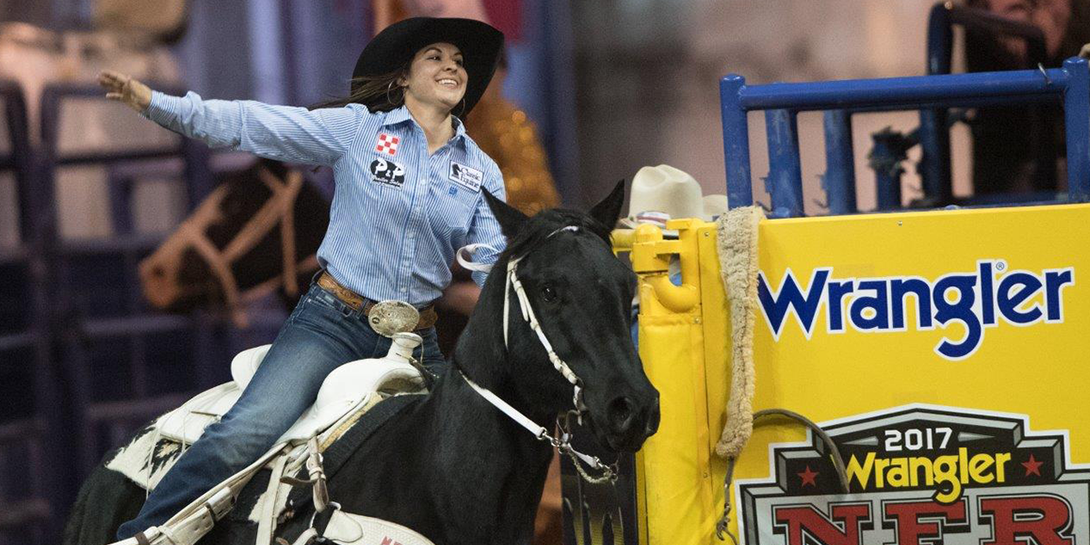 Hailey Kinsel One On One With The Wrangler Nfr Contestants