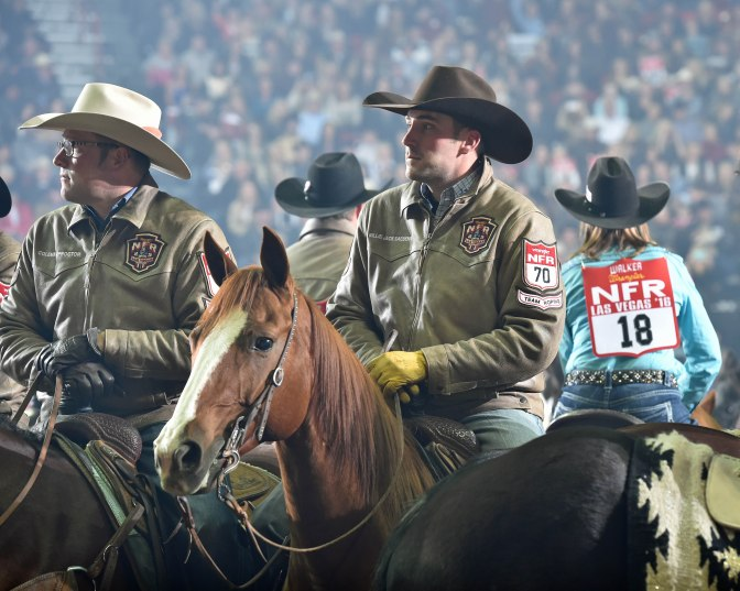 Billie JAck NFR Grand entry